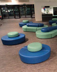 Aesthetic modular seating 4