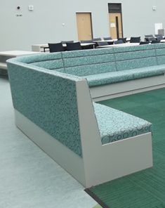 curved seating