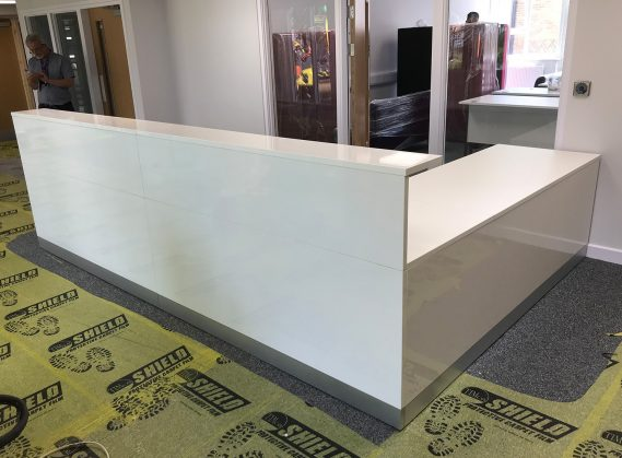 Reception Desk L Shape