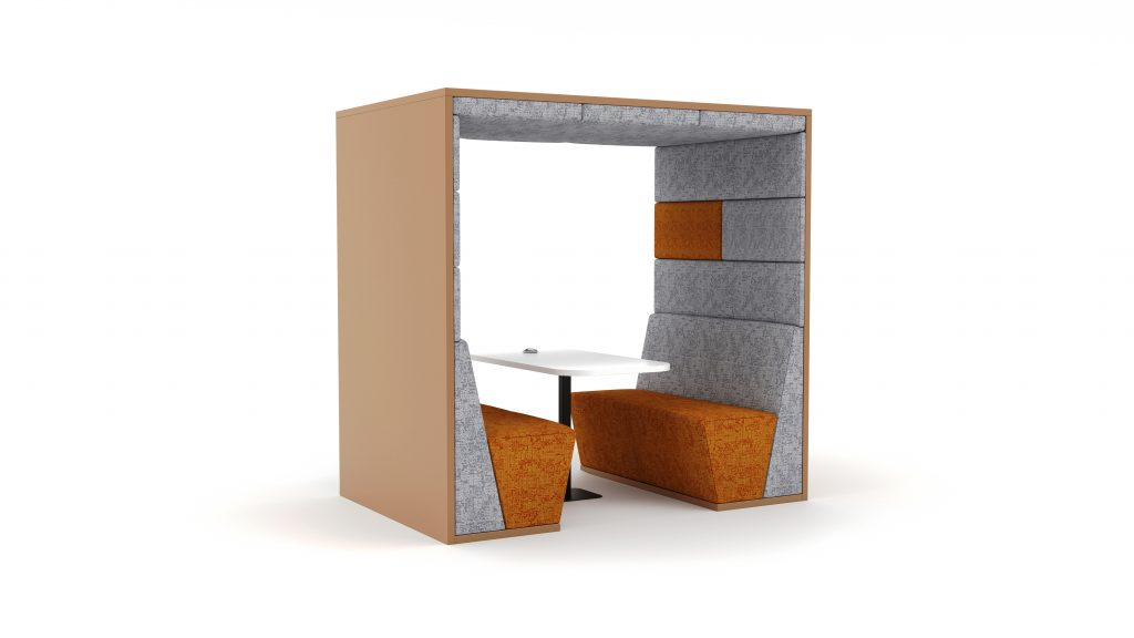 Ses Acoustic Screen booth 3