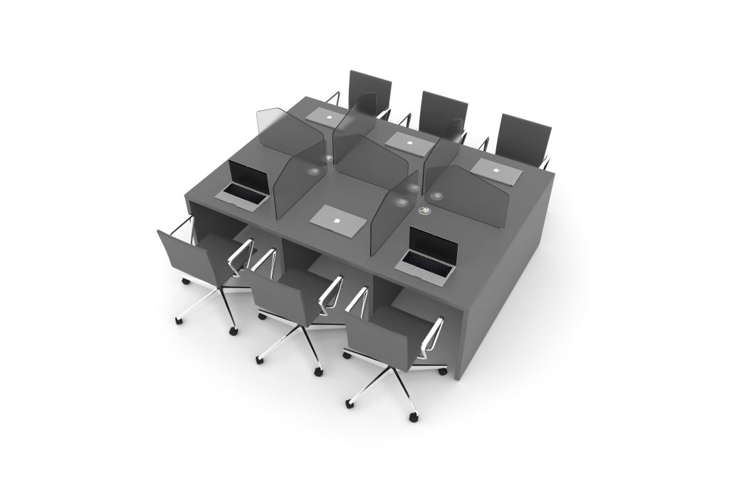 Quake tables with seating