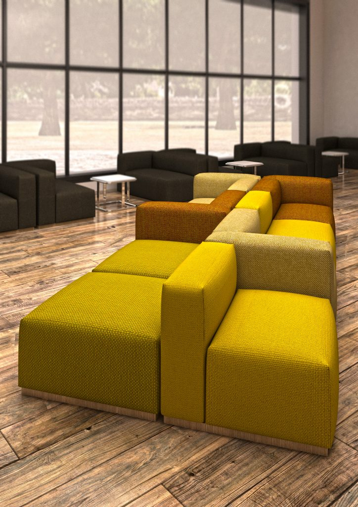 Lincs seating breakout area