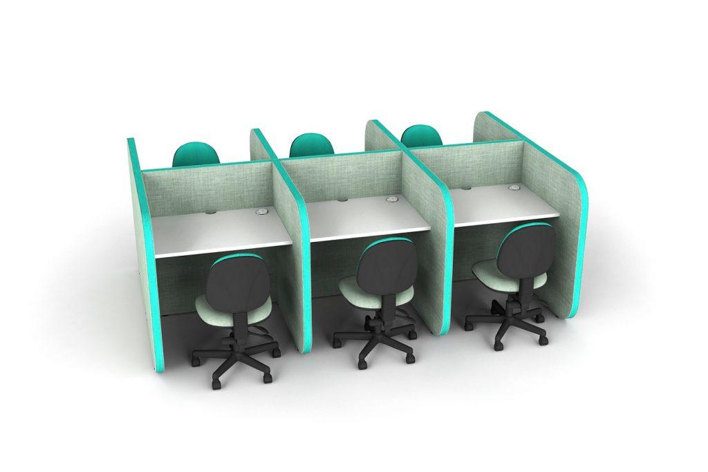 Flexi desk pods
